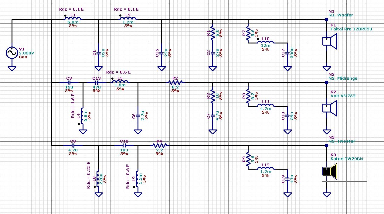 Here Is The Passive Crossover Schematic For The Lr4 And How To